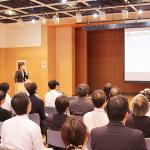塾長・塚﨑が第2回新宿ビジネス交流会で事業紹介をしました