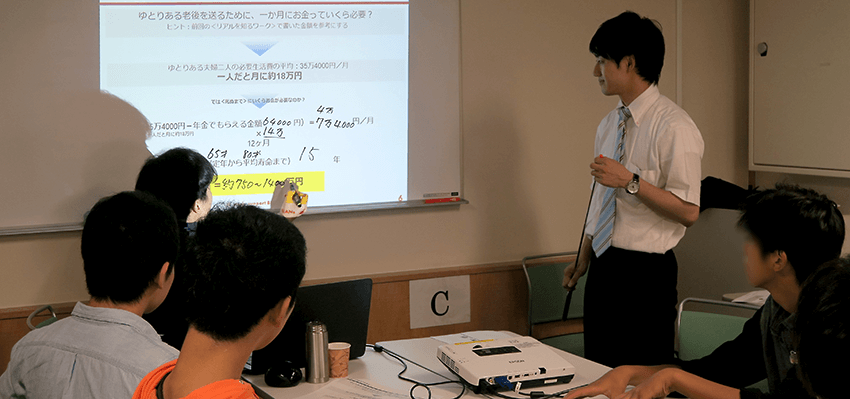 学習支援塾ビーンズのエンカレ授業-2