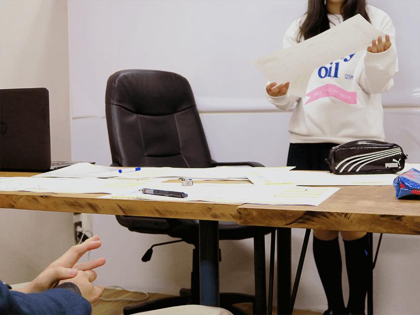 新宿区高田馬場 学習支援塾ビーンズ 一年の振り返り・計画ワーク 3