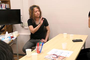 評論家・文筆家の古谷さんに学習支援塾ビーンズへ遊びに来ていただきました!