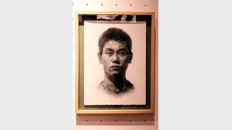 東京藝術大学 卒業・修了作品展 2018年 加々見太地 かがみだいち 自画像 作品