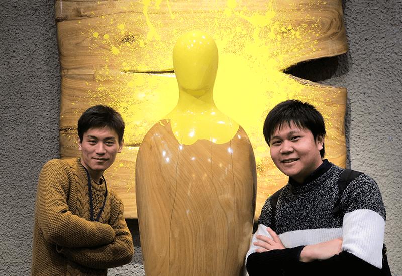 東京藝術大学 卒業・修了作品展 2018年 加々見太地 かがみだいち 彫像 オブジェ 作品