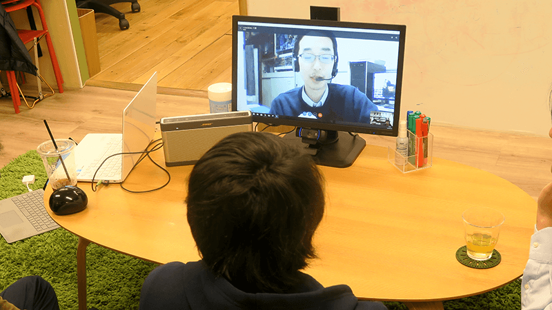 学習支援塾ビーンズ ソーシャルトーク体験 宇宙 物理 川勝先生 高路地先生